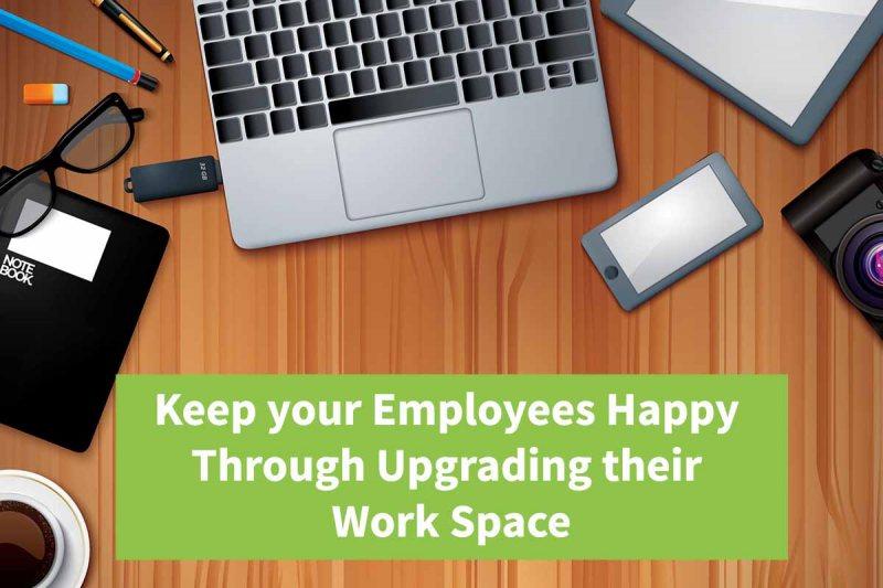 employee workspace